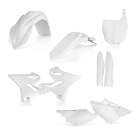 ACERBIS PLASTIC KIT FULL-KIT YAMAHA YZ/WR 250 2018, WHITE -