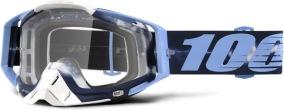 100% Racecraft TieDye Goggle - Clear Lens -