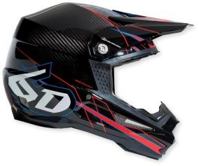 6D Electric Carbon Helmet - XS