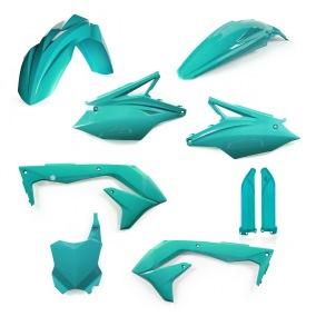 ACERBIS PLASTIC KIT FULL-KIT KAWASAKI KXF 450 2018, PETROL -