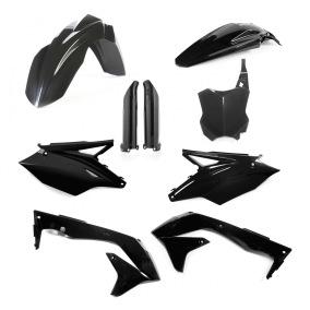ACERBIS PLASTIC KIT FULL-KIT KAWASAKI KXF 450 2018, BLACK -