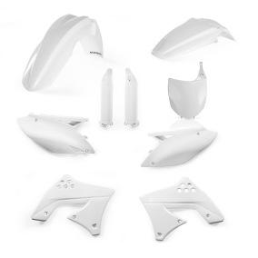 ACERBIS PLASTIC KIT FULL-KIT KAWASAKI KXF 250 09-12, WHITE -