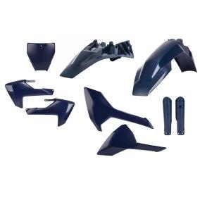 ACERBIS PLASTIC KIT FULL-KIT HUSQVARNA TC 85 2018, BLUE