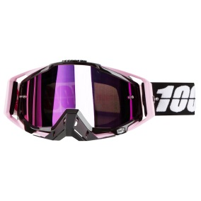 100% GOGGLE THE RACECRAFT FLOYD - MIRROR PINK