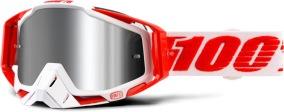 100% Racecraft Plus - Flash Mirror Lens