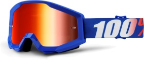 100% Strata Nation - Mirror Blue Lens