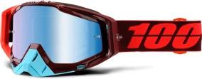 100% Racecraft Kikass - Mirror Blue Lens