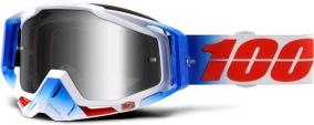 100% Racecraft Fourth - Mirror Silver Lens