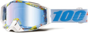 100% Racecraft Goggle Hyperloop - Mirror Blue Lens