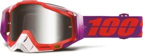 100% Racecraft Goggle Watermelon - Mr. Silver Lens
