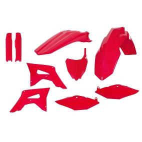 ACERBIS PLASTIC KIT FULL-KIT HONDA CRF 450 17-18, CRF 250 2018, RED/BLUE