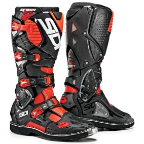 SIDI MX BOOTS CROSSFIRE 3 BLACK/FLUO RED