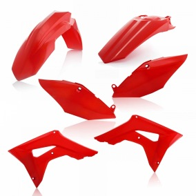ACERBIS PLASTIC KIT HONDA CRF 450 17-18, CRF 250 2018, RED