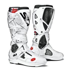 SIDI MX BOOTS CROSSFIRE 3 SRS WHITE/WHITE - 40