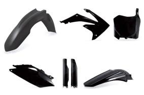 ACERBIS PLASTIC KIT FULL-KIT HONDA CRF 250 2010, CRF 450 09-10, SCHWARZ