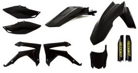 ACERBIS PLASTIC KIT FULL-KIT HONDA CRF 250 14-17, CRF 450 13-16, BLACK