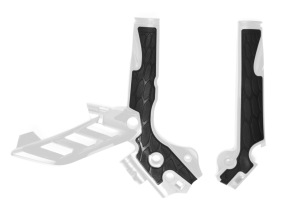 ACERBIS FRAME GUARD X-GRIP KTM SX 125/144/150/250, SX-F 250/350/450, EXC 125/200/250/300, EXC-F 250/350/450, WHITE 11-16