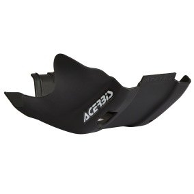 ACERBIS SKID PLATE KTM EXC 250/300, HUSQVARNA TE 250/300 17-19, SCHWARZ