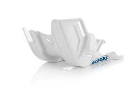ACERBIS SKID PLATE KTM SX 125/150 16-19, EXC 125/150 17-19, HUSQVARNA TC/TX 125 16-19, TE 125 17-19, WHITE