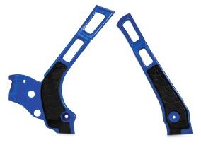 ACERBIS FRAME GUARD X-GRIP YAMAHA YZ 125/250, WR 125/250, BLUE