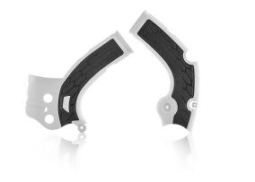 ACERBIS FRAME GUARD X-GRIP YAMAHA YZF 250/450, WRF 450, BLACK/WHITE