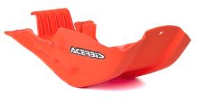 ACERBIS SKID PLATE KTM EXC 450/500 12-16, SX-F 450 13-15, ORANGE