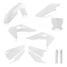 ACERBIS PLASTIC KIT FULL-KIT HUSQVARNA FC 250/350/450 '19, TC 125/250 '19/20 TX 125 '19/20 - White