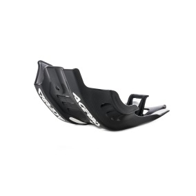 ACERBIS SKID PLATE HUSQVARNA FC 450 '19-20 KTM SX-F 450 '19-20 - BLACK/WHITE