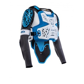 ACERBIS PROTECTOR JACKET GALAXY WHITE/BLUE - S/M