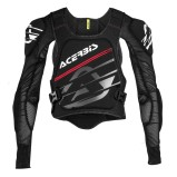 ACERBIS PROTECTOR JACKET MX SOFT PRO BLACK
