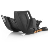 ACERBIS SKID PLATE KTM SX 125/150 16-19, EXC 125/150 17-19, HUSQVARNA TC/TX 125 16-19, TE 125 17-19, SCHWARZ