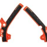ACERBIS FRAME GUARD X-GRIP KTM SX 85 13-17, HUSQVARNA TC 85 14-17, ORANGE 16