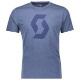 SCOTT T-SHIRT 10 PURE ICON ENSIGN HEATHER BLUE
