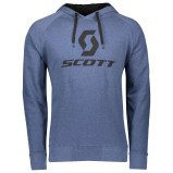 SCOTT HOODY 10 ICON ENSIGN HEATHER BLUE