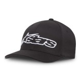 ALPINESTARS FLEXFIT CAP BLAZE BLACK/WHITE