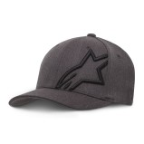 ALPINESTARS CAP CORP SHIFT 2 DARK HEATHER GREY/BLACK