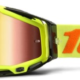 100% Racecraft Attack Goggle - Mirror Red Lens