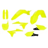 ACERBIS PLASTIC KIT FULL-KIT YAMAHA YZF 250/450 14-17, FLUO YELLOW