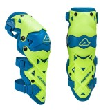 ACERBIS KNEE/SHIN GUARD IMPACT EVO 3.0 FLUO YELLOW/BLUE