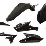 ACERBIS PLASTIC KIT FULL-KIT YAMAHA YZF 250/450 14-17, SCHWARZ
