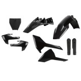 ACERBIS PLASTIC KIT FULL-KIT HUSQVARNA TC 85 2018, BLACK