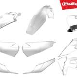 Polisport Plastic Kit 2019 Husqvarna - Clear