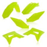 ACERBIS PLASTIC KIT HONDA CRF 450 17-18, CRF 250 2018, FLUO YELLOW
