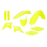 ACERBIS PLASTIC KIT FULL-KIT HONDA CRF 450 17-18, CRF 250 2018, FLUO YELLOW
