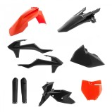 ACERBIS PLASTIC KIT TLD LIMITED EDITION FULL-KIT KTM SX 125/144/150/250, SX-F 250/350/450 16-18, BLACK/ORANGE