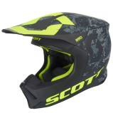 SCOTT HELMET 550 MIPS CAMO - BLACK/YELLOW