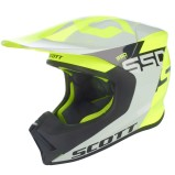 SCOTT HELMET 550 MIPS WOODBLOCK - GREY/YELLOW