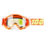 100% GOGGLE THE RACECRAFT RAZMATAZ - CLEAR ANTI-FOG