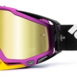 100% GOGGLE THE RACECRAFT HYPERION MAGENTA - MIRROR GOLD