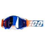 100% GOGGLE THE RACECRAFT ROXBURRY - MIRROR BLUE ANTI-FOG